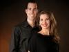 Mélanie et Mathieu, directeurs de Les studios Quividanse