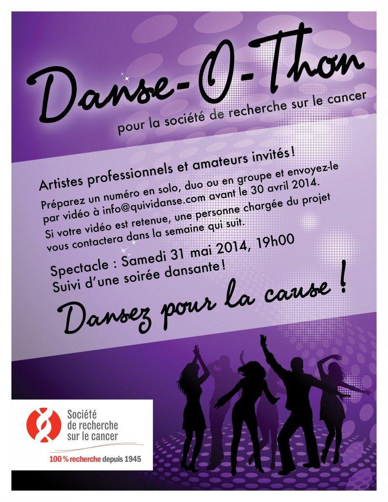 Danse-O-Thon pour la société de recherche sur le cancer